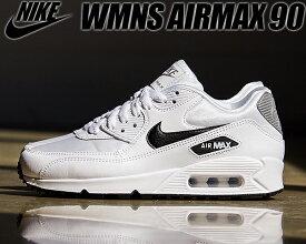 NIKE WMNS AIR MAX 90 white/black-reflect silver ナイキ ウィメンズ エアマックス 90 レディース スニーカー ガールズ ホワイト