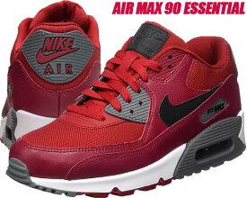 NIKE AIR MAX 90 ESSENTIAL gym red/black-noble red【ナイキ エア マックス 90 スニーカー メンズ レッド エア マックス ランニングシューズ】