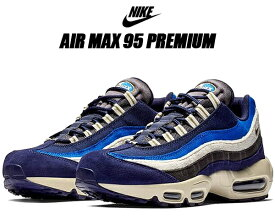 NIKE AIR MAX 95 PREMIUM blackend blue/camper green ナイキ エアマックス 95 プレミアム スニーカー メンズ エア マックス 95