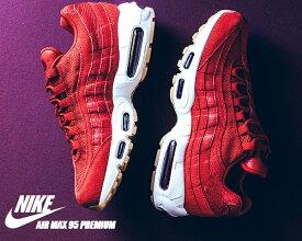 NIKE AIR MAX 95 PREMIUM gym red/gym red-team red-white ナイキ エアマックス 95 スニーカー エア マックス 95 プレミアム レッド ガム