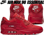 NIKEAIRMAX90ESSENTIALuniversityred/whiteナイキエアマックス90スニーカーメンズレッド赤エッセンシャル