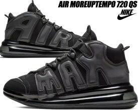 super popular efa68 040da NIKE AIR MORE UPTEMPO 720 QS 1 black metallic black-black bq7668-001