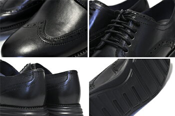 COLEHAANORIGINALGRANDSHWNGblack/black【コールハーンオリジナルグランドショートウィングビジネスシューズカジュアルメンズ靴革】