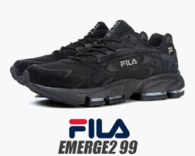 08ced5286db66a FILA EMERGE 2 99 BLACK フィラ エマージュ 2 99 スニーカー ブラック ランニングシューズ DAD SHOES SNEAKER