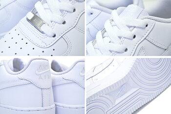 NIKEAIRFORCE1GSwhite/white314192-117ナイキエアフォース1レディーススニーカーAF1ガールズホワイト白