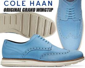 COLE HAAN ORIGINAL GRAND SHWNG pacific/ivory c29680 コールハーン オリジナルグランド ショートウィング カジュアル ビジネス メンズ シューズ
