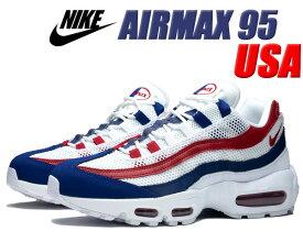 NIKE AIR MAX 95 INDEPENDENCE DAY white/gym red-deep royal blue cj9926-100 ナイキ エアマックス 95 独立記念日 USA