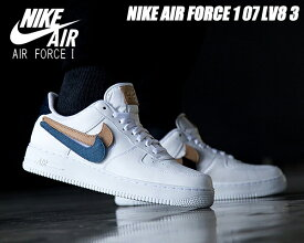 NIKE AIR FORCE 1 07 LV8 3 REMOVABLE SWOOSH white/white-obsidian ct2253-100 ナイキ エアフォース 1 07 LV8 3 スニーカー AF1 ホワイト バケッタタン