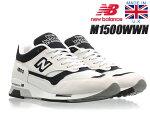 NEWBALANCEM1500WWNMadeinEnglandニューバランス1500スニーカーNB150030thAnniversaryホワイトブラック30周年UK