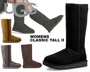 UGG WOMENS CLASSIC TALL II 1016224 ムートン ブーツ アグ ウィメンズ クラシック トール 2 4COLOR ブラック グレー チェスナット チョコレート