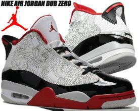 NIKE AIR JORDAN DUB ZERO white/black-varsity red 311046-116 ナイキ ジョーダン ダブゼロ スニーカー AJ BULLS OG