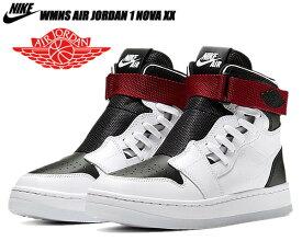 NIKE WMNS AIR JORDAN 1 NOVA XX white/black-noble red av4052-116 ナイキ ウィメンズ エアジョーダン 1 ノバ XX レディース スニーカー AJ1 ガールズ ホワイト ブラック レッド