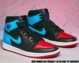 NIKE WMNS AIR JORDAN 1 HI OG UNC TO CHICAGO black/dk powder blue-gym red cd0461-046 ナイキ ウィメンズ エアジョーダン 1 ハイ OG スニーカー レディース BULLS UNIVERSITY OF NORTH CAROLINA