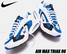NIKE AIR MAX TRIAX white/varsity royal-black cd2053-106 ナイキ エアマックス トライアックス スニーカー 96 AM ロイヤル