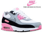 NIKEAIRMAX90LTR(GS)white/particlegreycd6864-104ナイキエアマックス90レザーガールズピンクレディーススニーカーキッズAM9030thANNIVERSARY30周年
