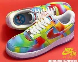 NIKE AIR FORCE 1 07 PRM TIE DYE CHICAGO white/multi-color ck0838-100 ナイキ エアフォース 1 07 プレミアム SUMMER OF PEACE スニーカー AF1 ホワイト マルチ タイダイ シカゴ