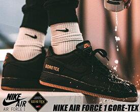 NIKE AIR FORCE 1 GORE-TEX black/black-light carbon ck2630-001 ナイキ エアフォース 1 ロー ゴアテックス AF1 撥水 防水 スニーカー 雨 GTX Bright Ceramic