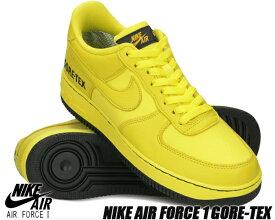 NIKE AIR FORCE 1 GORE-TEX dynamic yellow/black ck2630-701 ナイキ エアフォース 1 ロー ゴアテックス AF1 撥水 防水 スニーカー 雨 GTX DYNAMIC YELLOW