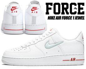 NIKE AIR FORCE 1 JEWEL white/pure platinum ct3438-100 ナイキ エアフォース 1 ジュエル スニーカー メンズ ホワイト ジュエル スウッシュ