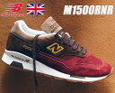 NEW BALANCE M1500RNR Made in England Holiday Pack ニューバランス M1500 UK 1500 スニーカー レッド ブラウン