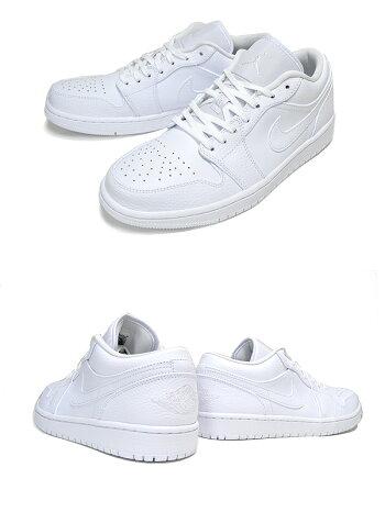 NIKEAIRJORDAN1LOWwhite/white-white553558-130ナイキエアジョーダン1ロースニーカーAJ1LOホワイト