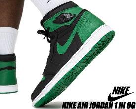NIKE AIR JORDAN 1 HI OG black/pine green-white-gym 555088-030 ナイキ エアジョーダン 1 ハイ OG スニーカー AJ1 ブラック パイングリーン