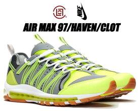 NIKE AIR MAX 97/HAVEN/CLOT volt/dark grey-pure platinum ao2134-700 ナイキ エア マックス 97 ヘイブン クロット Zoom Haven SP ボルト グレー AM97 スニーカー エディソン・チャン