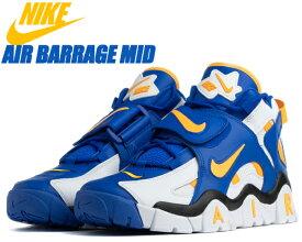 NIKE AIR BARRAGE MID RAMS white/laser orange-racer blue at7847-100 ナイキ エア バラージ ミッド スニーカー ターフ トレーナー アメリカンフットボール ロサンゼルス・ラムズ