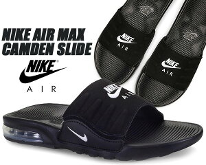 NIKE AIR MAX CAMDEN SLIDE black/white bq4626-003 ナイキ エアマックス キャムデン スライド サンダル MAX AIR ブラック シャワーサンダル カムデン