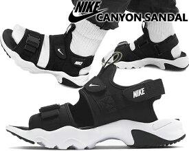 NIKE CANYON SANDAL black/white-black ci8797-002 ナイキ キャニオン サンダル メンズ スニーカー サンダル スポーツ