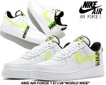 NIKEAIRFORCE107LV8WORLDWIDEPACKwhite/bareyvolt-volt-blackck6924-101ナイキウィメンズエアフォース107LV8スニーカーAF1LOWワールドワイドWorldwide