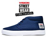 VISIONSTREETWEARYUMACHUKKANAVYvsw-6354-030ヴィジョンユーマチャッカスニーカースケートビジョンストリートウェアネイビー