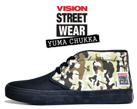 VISION STREET WEAR YUMA CHUKKA DESERT CAMO vsw-6354-292 ヴィジョン ユーマ チャッカ スニーカー スケート ビジョン ストリート ウェア デザート カモフラ 迷彩
