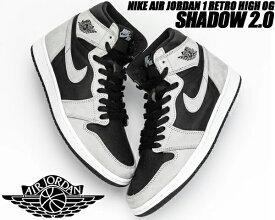 NIKE AIR JORDAN 1 RETRO HIGH OG SHADOW 2.0 black/lt smoke grey-white 555088-035 ナイキ エアジョーダン 1 レトロ ハイ OG スニーカー AJ1 シャドー2
