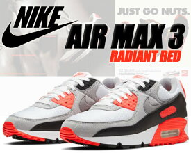 NIKE AIR MAX III white/black-cool grey ct1685-100 ナイキ エアマックス 3 スニーカー AM III AIRMAX 90 INFRARED インフラレッド ラディアンレッド RADIANT RED