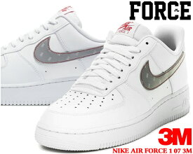 NIKE AIR FORCE 1 07 3M white/silver-anthracite ct2296-100 ナイキ エア フォース 1 07 スリーエム スニーカー AF1 ホワイト レッド リフレクター 反射
