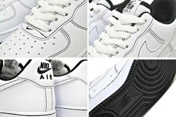 NIKEAIRFORCE107white/white-blackcv1724-104ナイキエアフォース107スニーカーエアフォースメンズホワイトブラック
