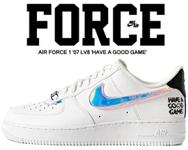 NIKE AIR FORCE 1 07 LV8 GOOD GAME/LEAGUE OF LEGENDS white/multi-color-wht dc0710-191 ナイキ エアフォース 1 07 エレベイト グッドゲーム スニーカー AF1 e-sports