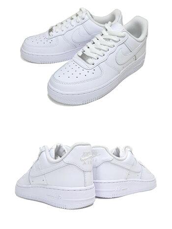 NIKEWMNSAIRFORCE107white/white-wht-whtdd8959-100ナイキウィメンズエアフォース107スニーカーエアフォースワンローホワイト白AF1LOW