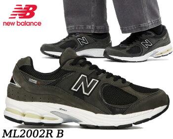 NEWBALANCEML2002RBBLACKwidthDニューバランスML2002RブラックスニーカーABZORBN-ERGYウィズD