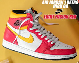 NIKE AIR JORDAN 1 HIGH OG lt fusion red/black-white 555088-603 LIGHT FUSION RED ナイキ エアジョーダン 1 レトロ ハイ OG ライト フュージョン レッド スニーカー ハイカット AJ1