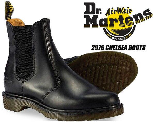 お得な割引クーポン発行中!! Dr.Martens 2976 CHELSEA BOOT BLACK 【ドクターマーチン サイドゴア ブーツ チェルシーブーツ ドクターマーチン 2976 CHELSEA BOOT エンジニア ワーク レザー ブーツ メンズ レディース 靴】