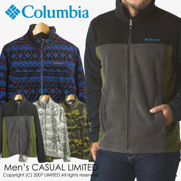 送料無料 columbia コロンビア バックアイスプリングスジャケット メンズ フリース【1B0332】