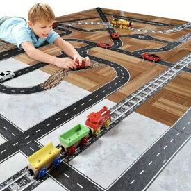 ◇ 選べる!! 2本セット ◇どこでも線路 どこでも道路 電車 車 男の子 女の子 誕生日 プレゼント おもちゃ ミニカー 子供 列車 電車 マスキングテープ 雑貨