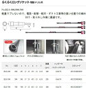 らくらくロングソケット(電動ドリル用)【ELS-500】【フジ矢FUJIYA2012】 j【フジヤ2013】