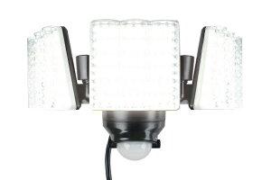 LED DAISHIN DAISHIN ACセンサーライト3灯式 DLA-7T300 防犯 セキュリティー 照明 投光器【全国送料無料】エコ