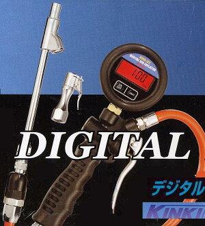 新产品! 数字轮胎压力计 KHG-02 近畿股份 (近畿)
