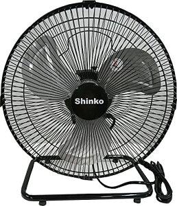 【送料無料!】新光電気 新光 床置型工場扇(30cm) 360°首振り KS-30Y ブラック 空気の入れ替え 工業扇風機 大型扇風機  工場扇 扇風機 業務用