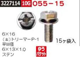 ネジ ±トリーマーP-1  ステン 6×16 055-15 ネジ関連部品【REX2018】