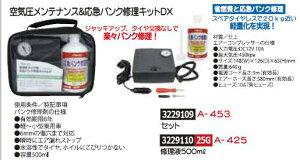 空気圧メンテナンス&応急パンク修理キットDXセット A-453 タイヤパンク修理【REX2018】